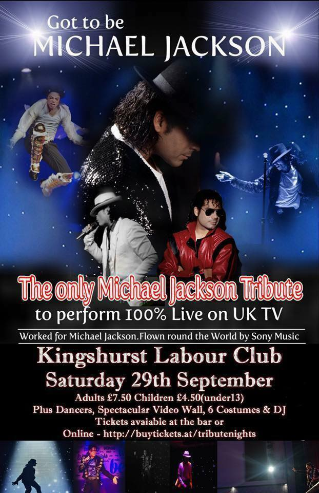 MICHAEL JACKSON TRIBUTE NIGHT